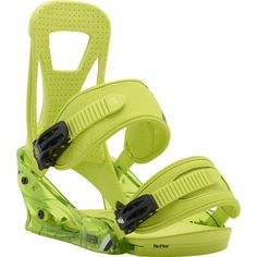 Burton Freestyle Snowboard Bindings from Snowboarding, Skiing, Freestyle Snowboard, Snowboard Equipment, Snowboard Bindings, Ankle Straps, Pairs, Lime, Amazon