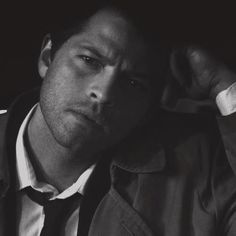 Misha Collins as Castiel on Supernatural. He just has a certain sex appeal. Haha