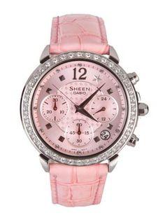 Buy Casio Women Sheen Pink Watch - SX005 - Accessories for Women