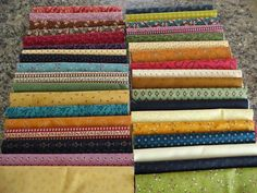 laugh yourself into Stitches*: Scrappy Fabric Bundles...Miss Kate, Vintage Farmhouse and More! Perfect for Farmer's Wife quilt blocks