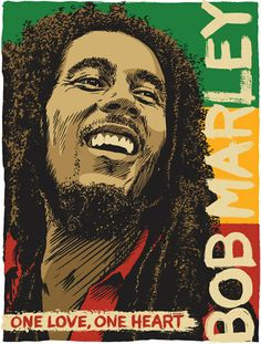 Bob Marley Pop Art Print 13x19 by RedRobotCreative on Etsy, $25.00