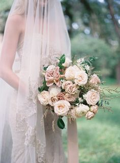 Wedding Flower Bouquets Mauve Wedding Inspiration in the Low Country - We've got all the heart eyes for this new hue. Wedding Flower Guide, Flower Bouquet Wedding, Floral Wedding, Wedding Colors, Bouquet Flowers, Greenery Bouquets, Perfect Wedding, Dream Wedding, Dusty Rose Wedding