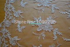 Ivory Embroidery and Corded Bridal Lace Fabric #13112023 Corded Bridal Wedding Lace Fabric for Wedding Dresses Bridal Gowns DIY-in Lace from Home & Garden on Aliexpress.com | Alibaba Group