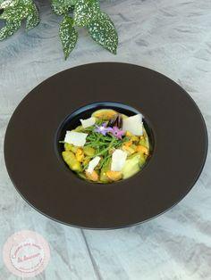 Gnocchis à l'oseille ~ Moules sauce courgette & curcuma – Comme une envie de douceur Zucchini, Apple, Green Onions