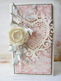 Gallery of handicrafts: with love card