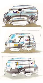 Fedex Van By Swaroop Roy