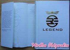 Hier seht ihr noch einmal den ersten Band der Legend Trilogie.