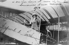 Raymonde de Laroche 8 March 1910