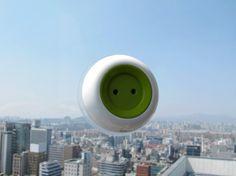 """Enchufe con energía solar """"Window socket"""" diseñado por KYUHO SONG"""