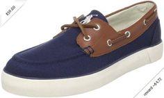 Polo Ralph Lauren Men's RyLander Boat Shoe,Navy/Tan/Cream,9.5 M US