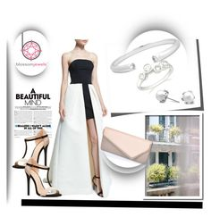 """""""blossom-jewels"""" by fashion-with-lela ❤ liked on Polyvore featuring Thomsen Paris, Halston Heritage, Charlotte Russe and Blossomjewels"""