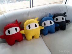 Cute Handmade Ninja Plushies