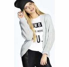 boohoo BATWING CARDIGAN - silver azz18346 Kick back in this batwing sleeve cardigan , perfect for throwing on when you want to give your look that undone vibe. Style this slouchy knit with a basic tee , skinny jeans and chunky ankle boots . http://www.comparestoreprices.co.uk/womens-clothes/boohoo-batwing-cardigan--silver-azz18346.asp