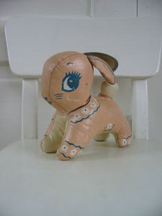 vintaje stuffed bunny
