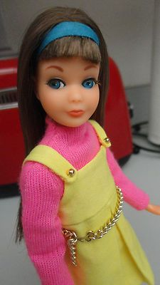 I want this: Vintage TNT Twist N Turn Brunette Skipper Barbie Beautiful | eBay