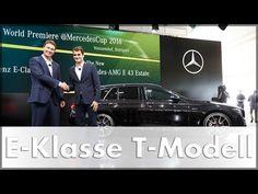 Während des 100. Jubiläums des MercedesCup im Stuttgarter Tennisclub Weissenhof feiert Mercedes-Benz die Weltpremiere des neuen Mercedes E-Klasse T-Modells. Mit deutlich sportlicheren Design reichlich Technik aus der neuen E-Klasse und viel Platz für Passagiere und Gepäck könnte auch dieser Mercedes Kombi zum Verkaufsschlager werden. Zumal diese E-Klasse trotz ihrer deutlich dynamischeren Linienführung noch immer 1820 Liter Kofferraumvolumen bietet. Der zweite Star des Abends neben…
