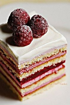 Lemon Dessert recipes Four-Fruit Compote Recipe from Taste of Home Raspberry Layer Cake S'mores Cookies Food Cakes, Cupcake Cakes, Fruit Cakes, Just Desserts, Dessert Recipes, Pastry Recipes, Layer Cake Recipes, Lemon Layer Cakes, Cheesecake Recipes