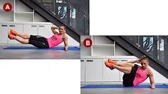 Tři cviky pro sexy tvarovaný six pack– Novinky.cz-Šikmé přítahy kolen Posledním cvikem jsou šikmé přítahy kolen, díky kterým opět, stejně jako u šikmých zkracovaček, procvičíte jak přímé, tak šikmé břišní svalstvo. Základem pro tento cvik je správná základní pozice, při které získáte patřičnou stabilitu.   Posaďte se na podložku a přeneste váhu na levý bok, trup podepřete předloktím levé paže, pravou paži zkřižte za hlavou a nohy propněte v kolenou. Nyní jste ve výchozí pozici. Následně