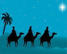 Visita de los Reyes Magos de Oriente.