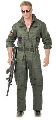 Flight Suit Top Gun Costume - Top Gun Costumes | Top Gun Halloween Costume | Pinterest  sc 1 st  Pinterest : top gun costume for men  - Germanpascual.Com