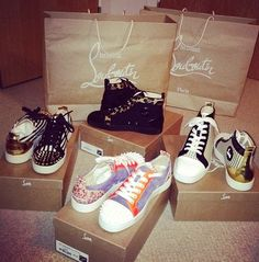 louboutin trainers