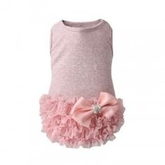 Luxury Frilled Dress- Pink