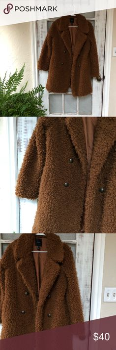 Warm, 70's style vintage coat Warm, 70's style vintage coat, cozy and never worn. Jackets & Coats