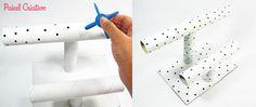 passo a passo porta pulseira colares tubos papelao reciclagem (3)