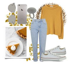 """""""untitled #91"""" by iamjustamayfly ❤ liked on Polyvore featuring Bliss Studio, Converse, MANGO, Topshop, Christian Dior, Fall, Sweater and autumn"""