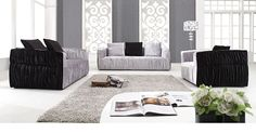 Pamplemo Modern Sofa Set