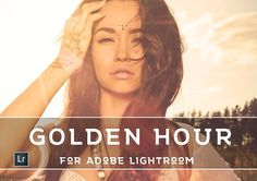 45 Golden Sunset Presets by LOU&MARKS on @creativemarket