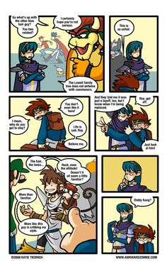 marth and roy comic