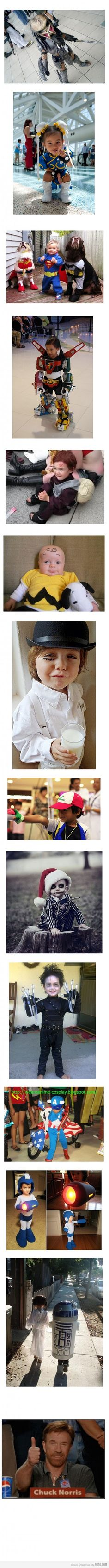 OMG TOO CUTE: Kids cosplay rulez