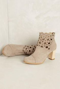 Anthropologie Circlet Suede Booties $168.00 - Buy it here: https://www.lookmazing.com/products/show/5238175?shrid=7_pin