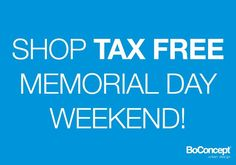 memorial weekend tax free
