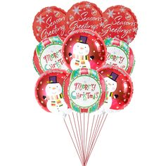 Star Celebration Balloons  Price:  US$45.99  It will not be enough wishes when it's balloons wishes. A set of 9 eye-catching balloons are just so good and suitably best gift for this Christmas.