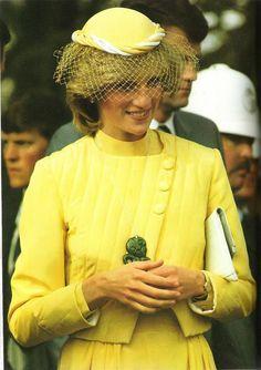 Princess Diana in New Zealand, April 1983