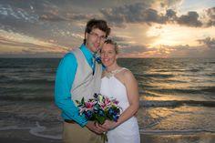 Richard & Lisa left the frigid winter behind in Iowa to come to St. Pete Beach Florida for their destination wedding! #floridabeachweddings #simpleweddingsflorida