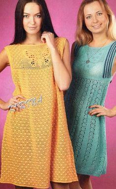 vestidos de verano de punto