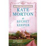 By a favorite: Kate Morton. Wonderful Twist. Set in 2 different times. Most of us liked this one. Im a sucker for Kate Morton.