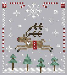 Christmas Cross Stitch 17 by Theflossbox on Etsy, $2.00