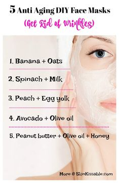 Anti Aging Skin Care Tips for Your Age Try these DIY natural anti aging face masks to reduce wrinkles and fine lines. Discover how to look younger with anti aging tips for your age and effective skin care products on Anti Aging Facial, Anti Aging Tips, Best Anti Aging, Anti Aging Skin Care, Natural Skin Care, Natural Beauty, Natural Facial, Anti Aging Face Mask, Creme Anti Age