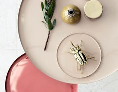 Goldener Käfer von Broste Copenhagen