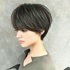 Short Layered Haircuts, Cute Hairstyles For Short Hair, Short Hair Cuts For Women, Pixie Hairstyles, Pixie Haircut, Trendy Hairstyles, Instagram Hairstyles, Asian Short Hair, Shot Hair Styles