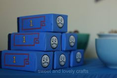 Good Thomas party ideas from sweet and lovely crafts: Thomas the Train party!!