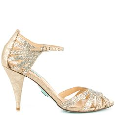 Champagne Betsey Johnson Sweet Evening Shoes $139