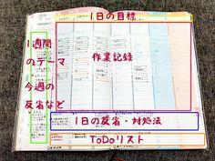 ジブン手帳の使い方「週間スケジュール(バーチカル)」
