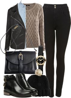 styleselection:  Untitled #594 by im-emma featuring high rise black jeans