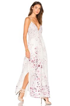 THE JETSET DIARIES Flora Maxi Dress in Patchwork Floral Print   REVOLVE