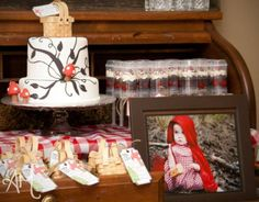 Little Red Riding Hood Fairytale 1st Birthday Party.
